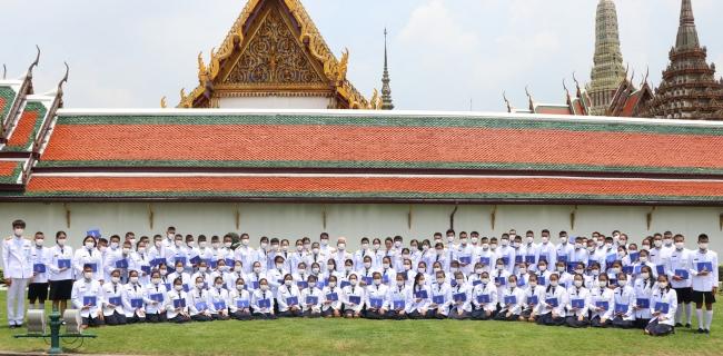 พิธีพระราชทานประกาศนียบัตรกลุ่มโรงเรียนในพระราชูปถัมภ์ฯ ปี 2563
